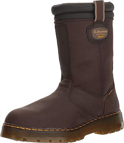 Dr. Martens Men's Corbel Rigger Work Boot (12 D UK, Dark -