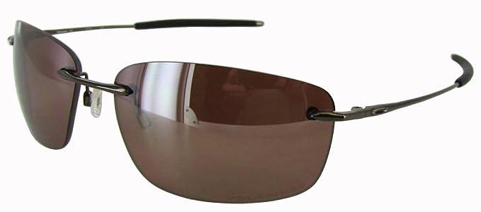 cdbfe3697d NEW  230 Oakley 12-910 Nanowire 1.0 Polarized Chrome Sunglasses ...