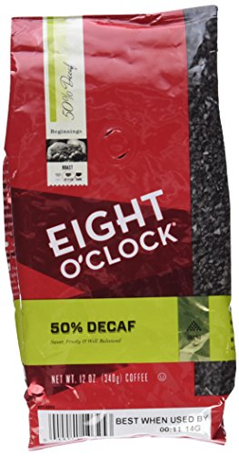 Eight O'Clock 50% Decaf Ground Coffee