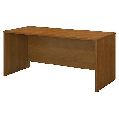 Bush Business Furniture Series C 60W x 24D Credenza Desk in Warm Oak ()
