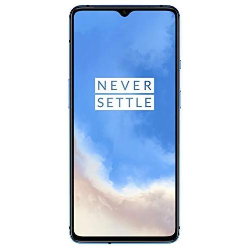 chollos oferta descuentos barato OnePlus 7T Smartphone 8 GB RAM 128 GB Speicher Triple Kamera Front Kamera Warp Charge 30 Glacier Blue