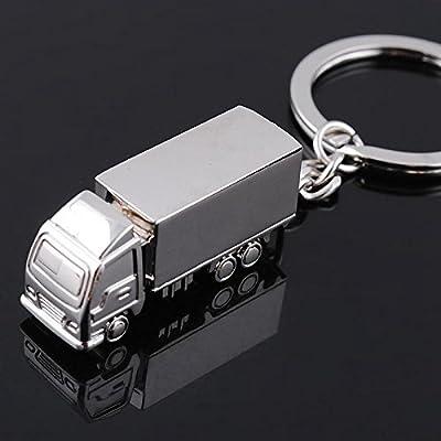 1 PCS New Fashion Anneau mignon Charm camions Keyfob Keychain Cadeau Lorry voitures belles Porte-clés
