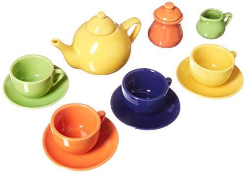 Schylling Children's Ceramic Tea Set