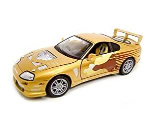 Amazon.com: 1993 Toyota Supra Fast & Furious 1:18 Diecast Model: Toys