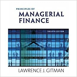 Principles of managerial finance 12th edition copyright 2009 principles of managerial finance 12th edition copyright 2009 lawrence j gitman amazon books fandeluxe Choice Image