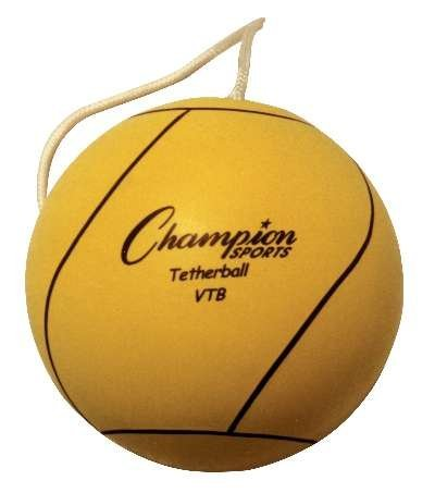 Champion Sports Optic Yellow Tether Ball by Champion Sports