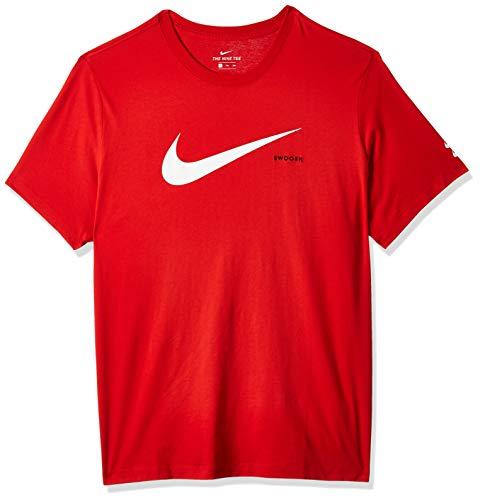 Nike Herren M NSW Swoosh Hbr Ss Tee T-Shirt