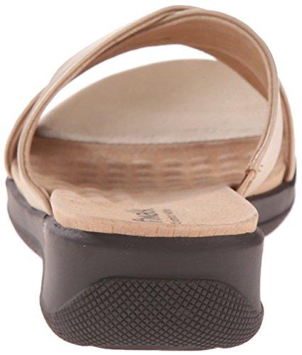 Sandalo Da Donna Sandalo Lavato In Oro