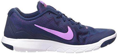 Damen Laufschuhe 4 Experience Blau Rn Flex Nike FHxqdd