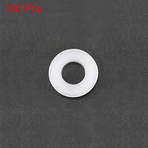 Insulating Washer Insulating Joint for Base Plate 100 Pieces 2 x 5 x 1.0 mm White Vulcanized Fiber Washer