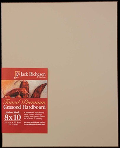 Richeson Umber Toned Gessoboard 12X24 by Jack Richeson