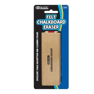 Felt Chalkboard Eraser Quantity: Case of 144 by Bazic