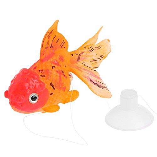 Shoresu Glow In The Dark Artificial Aquarium Goldfish Ornament Fish Tank Decoration Hot D