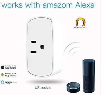 Enchufes zeer keer Smart Socket regleta WiFi ifttt de vinculación Ventilador purificador de aire Humidificador Acuario Android IOS Waln: Amazon.es: Bricolaje y herramientas