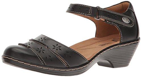 Clarks Women's Wendy Leehi Heeled Sandal - Black Leather ...