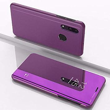 SWMGO® Espejo Enchapado Flip Funda para Samsung Galaxy A50 ...