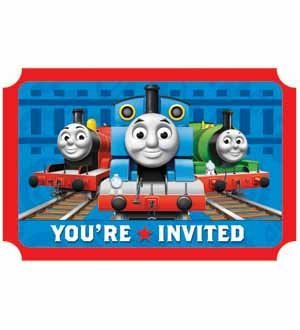 Friends Invitation Best (Thomas and Friends 'Save the Date' Invitations (8ct) [3 Retail Units])