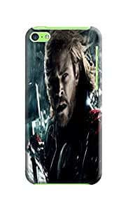 High quality fashionable Cool Chris Hemsworth Thor waterproof TPU phone case/cover/shell/shield for iphone 5c