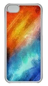 iPhone 5C Cases & Covers -Orange Flash Custom PC Case Cover For iPhone 5C - Tranparent