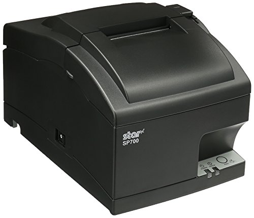 Star Micronics 37999160 Model SP712ML Impact Friction Printer, Tear Bar, Power Supply Included, Gray