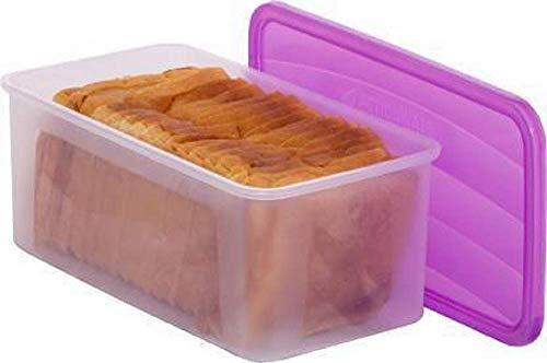 Radost® Fridge Storage Box/Bread & Butter Server, Vegetable Storage Box, Fridge Storage Box with lid 2.5 Liter, Plastic…