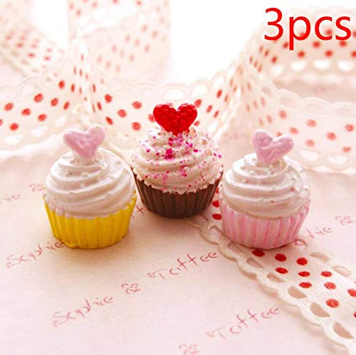 Slime charms Cute Dessert Bread Charms for Slime Filler Cake Ornament Phone Decoration Charms Slime Supplies Toys 48