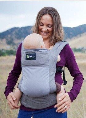 Amazon.com: Boba Carrier para bebé con muestras de Rockin ...
