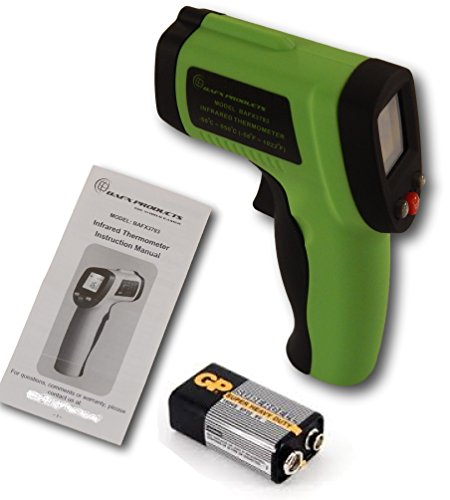 BAFX-Products-Non-Contact-Infrared-IR-Thermometer-58F-1022F-W-Pointer-Sight-BATTERY-INCLUDED