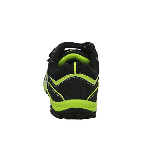 Sneakers 51.441.0.4.NGG363.1 Jungen Klettverschluss/Slipper Halbschuh Schwarz (Schwarz)