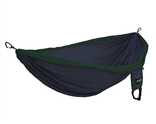 ENO Eagles Nest Outfitters - Double Deluxe Hammock, Navy/Forest