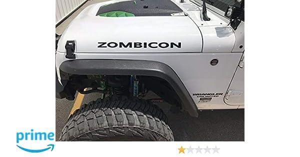 Vinyl Decal Sticker Jeep XJ JK CJ TJ YJ Willys XK 4x4 Red 4 Wheel Drive