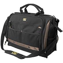 Custom Leathercraft Custom LeatherCraft 1539 Multi-Compartment 50 Pocket Tool Bag