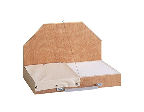 Wedging Board - AMACO Wood Wedging Board with Canvas Cloth, 21-7/8 X 14 in
