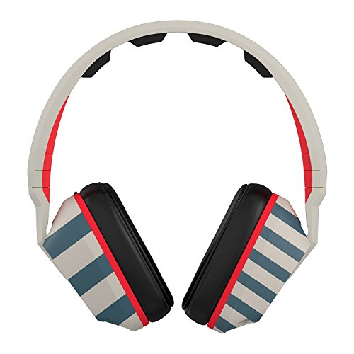 Skullcandy Crusher Headphones With Mic Stripes Tan Navy  One Size