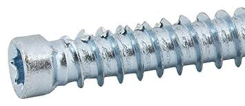 SFS Intec fb-zk-t30 –  7 –  Lote de 100 tornillos hormigó n, gris, 533630