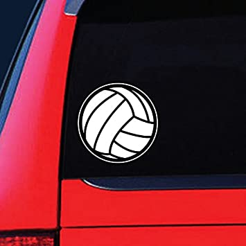 Vans Window DONL9BAUER Abstract Volleyball Player Cars Vinyl Decal Sticker Decal Sticker for Trucks Computer Bottle Cup Bumpe. Laptop Mug Motorcycle Auto Decals