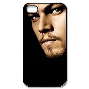 Brilliant Leonardo Wilelm DiCaprio Printed Hard Case Skin For Samsung Galaxy S5 Mini Case Cover in Black Color