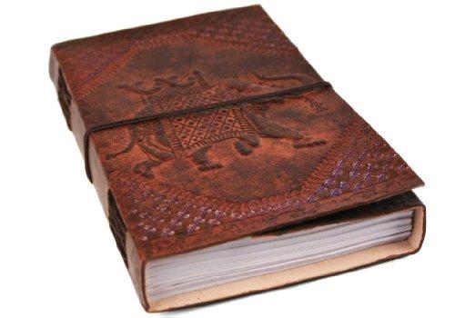 Camel Elephant Handmade Handbound Journal product image