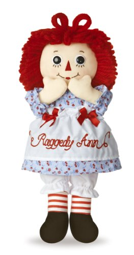 Aurora World Raggedy Ann Classic Doll 12""