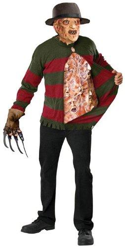 Freddy Krueger Teen Hat (Freddy Chest of Souls Teen/Junior Costume - Teen Small)