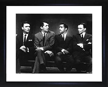 Amazoncom Rat Pack Framed Photo By Picture Favourites Prints