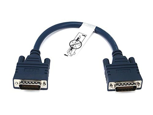 Cable Dte Crossover (Monoprice DCE/DTE DB60 Crossover Cable -  1FT)