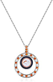 NFL Pendant Necklace | Sports Fan Jewelry Gift | Fashion Jewelry | Birthday & Holiday Gifts for Women and