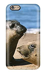 Awesome Design Sea Lions Hard Case Cover For Iphone 6
