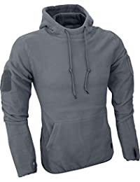 Men's Tactical Fleece Hoodie Titanium