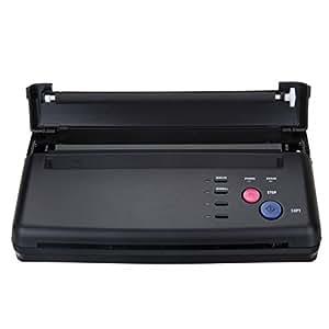 black tattoo transfer stencil machine thermal