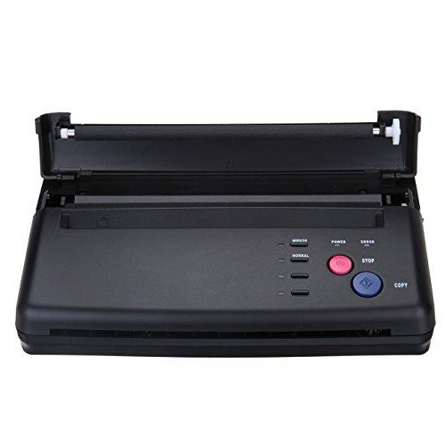 Black Tattoo Transfer Stencil Machine Thermal Copier Printer with Bonus - Studios Stencil