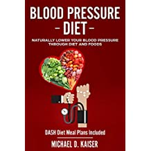 Blood Pressure Diet: Naturally Lower Your Blood Pressure Through Diet and Foods