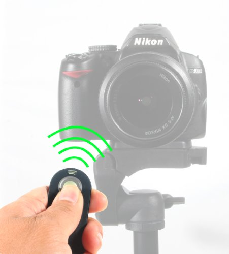 Photive PHML-L3 Wireless Shutter Release Remote For Nikon D5300, D3200, D5100, D5000, D7000, D600, D610, D80, D90, p7000, P7100, Nikon J1, V1, Nikon 1 AW1 Digital SLRS(Replaces Nikon PHML-L3)