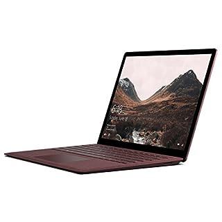 "Microsoft Surface Laptop, 13.5"" PixelSense (2256 x 1504), Intel Core i7, 16GB RAM, 512GB SSD, Windows 10 Pro, Burgundy (Renewed)"